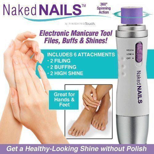 Naked Nails Electronic Nail Care System - gogetithub