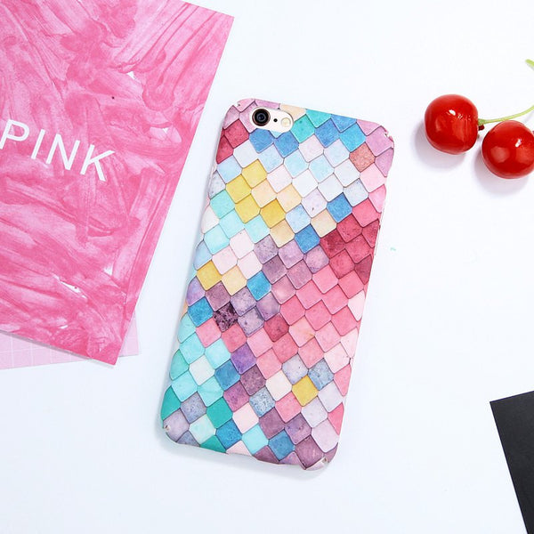 3D Mermaid Scales iPhone Case - gogetithub