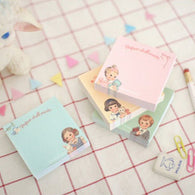 Paper Doll Memo/Sticky Pads - gogetithub