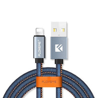 Denim Wrapped Data Cable - gogetithub