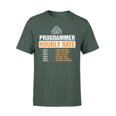Programmer Hourly Rate Shirt