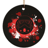 SW04 Ceramic Circle Ornament