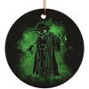 SW03 Ceramic Circle Ornament