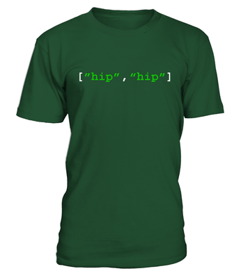 Hip hip array - programmer funny shirt