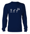 Female Male and Programmer T-shirt