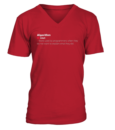 Algorthm T-Shirts - Cool gift for programmers
