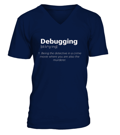 Debugging T-shirt - Make programmers proud