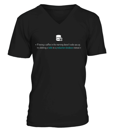 Table T-shirt - Cool gift for programmers