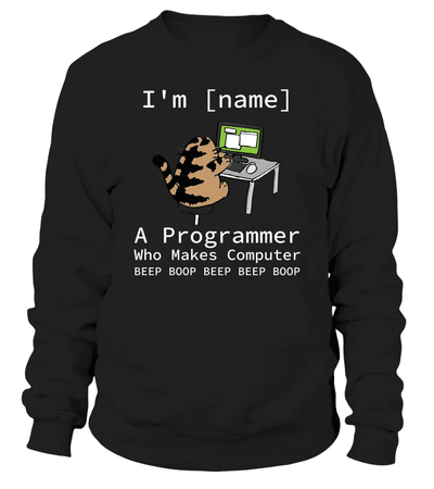 A programmer who make computer beep boop