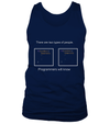 2 types of people T-shirt - Cool gift for programmers