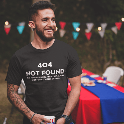 404 Not Found T-shirt