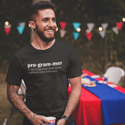 Define programmer T-shirt - Cool gift for programmers