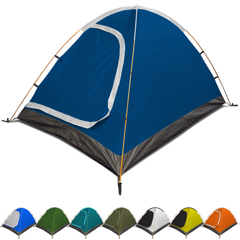 REVALCAMP 3-in-1 Camping Tent - Waterproof & Windproof 4 Season Tents for Camping, Backpacking & Hiking - Durable & Easy to Set-up 2 Person Tent