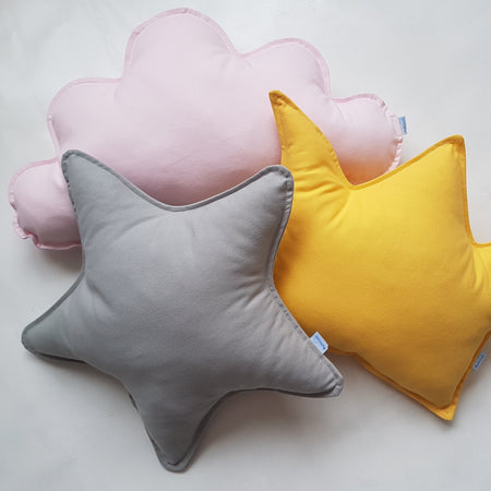 Star Pillow Cushion Velvet