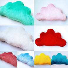 Cloud Pillow Cushion Velvet-cushion-BabyUniqueCorn