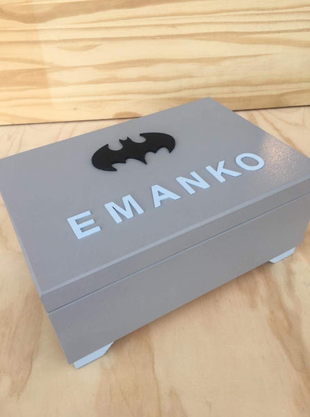 Personalised Small Wooden Storage Box-Box-BabyUniqueCorn