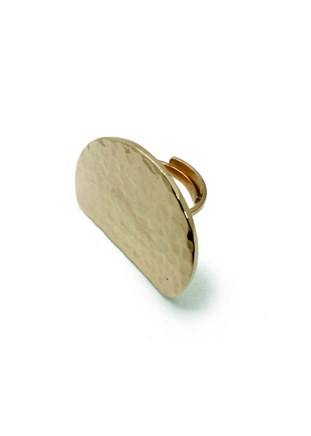 FREYA HAMMERED RING