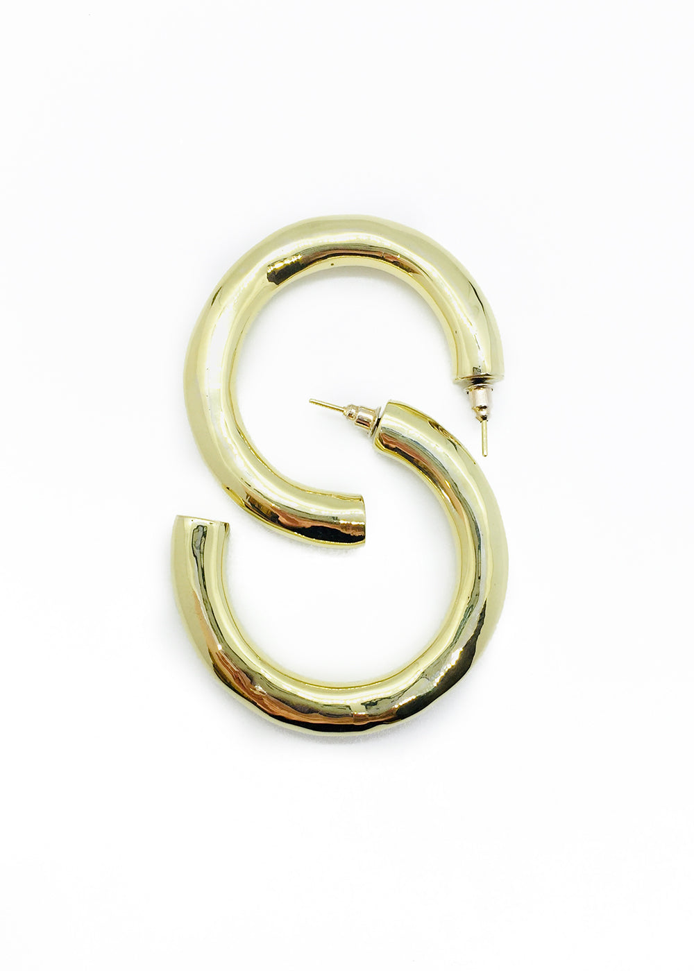 VENUS'S SISTER ROUND HOOP EARRINGS