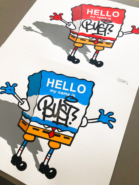 BUST - Hello My Name Is Bust - BLUE VARIANT