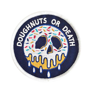 DOUGHNUTS OR DEATH patch