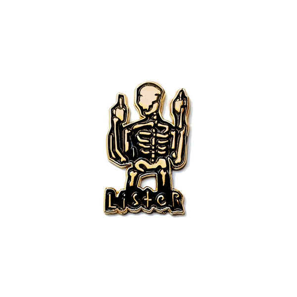 ANTHONY LISTER - SKELETON FINGER (GOLD)