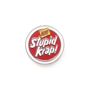 STUPID KRAP - LOGO PIN