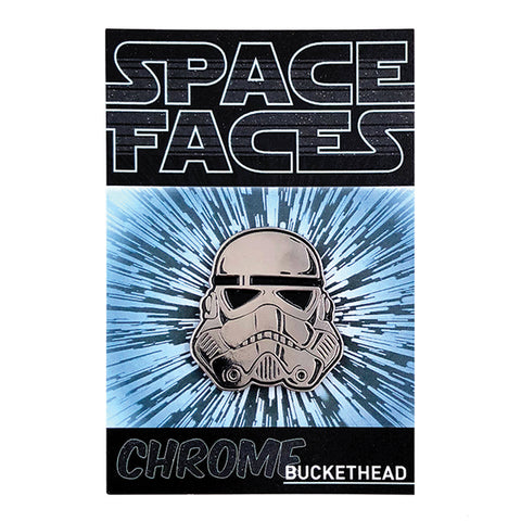 SPACE FACES - CHROME BUCKETHEAD
