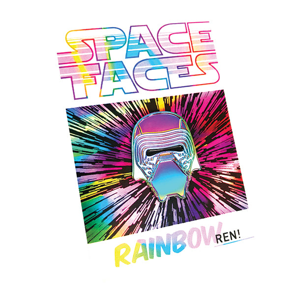 SPACE FACES - RAINBOW REN