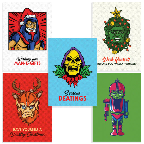 BENJAMIN LANDE - MOTU CHRISTMAS CARD SET