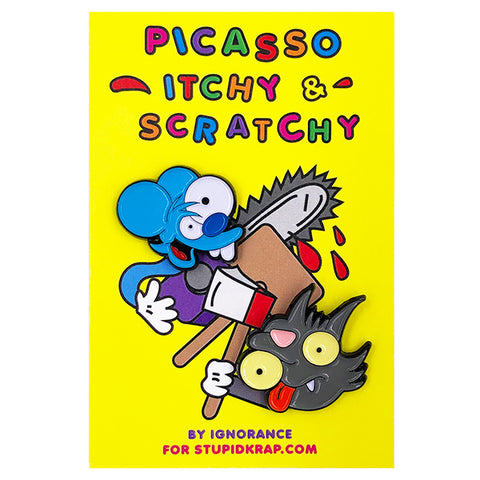 IGNORANCE - PICASSO ITCHY & SCRATCHY