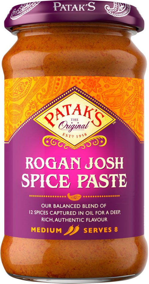 Pataks - Rogan Josh Spice Paste - 283g (Case of 6)