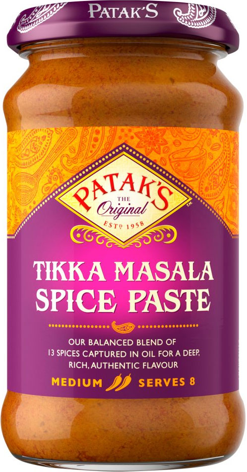 Patak's Tikka Masala Spice Paste 283g - Pack of 6