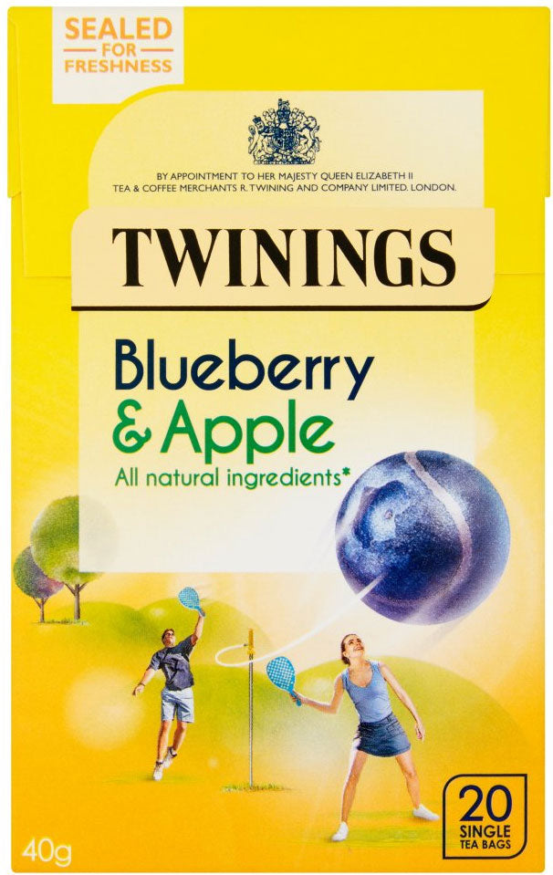 Twinings Blueberry & Apple 20 Teabags