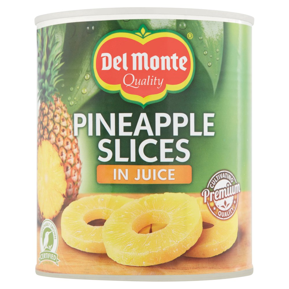 Del Monte Pineapple Slices in Juice  820g