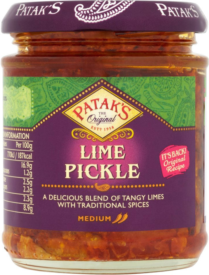 Patak's Lime Pickle Medium (283g) by Groceries