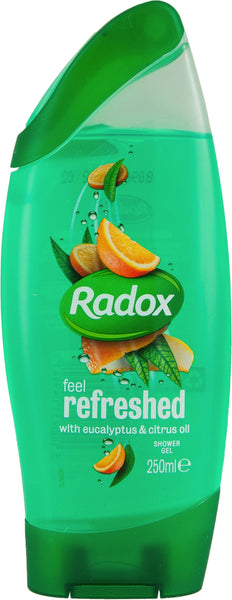 Radox Refresh Eucalyptus & Citrus Oil 2in1 Shower & Shampoo (250ml x 1)