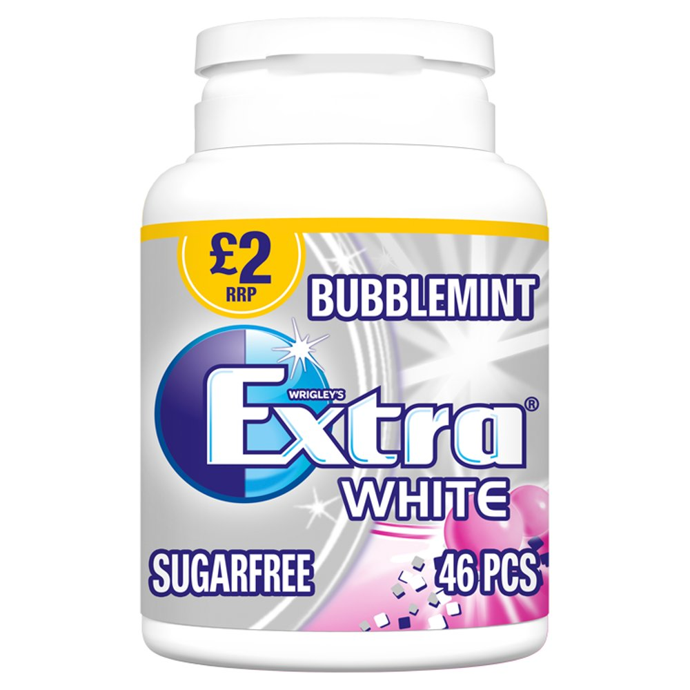 Wrigley's Extra White Sugarfree Gum (46)