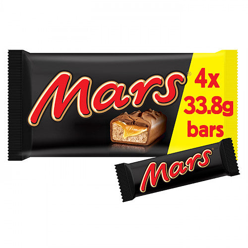 Original Mars Bar Four Pack Imported From The UK England