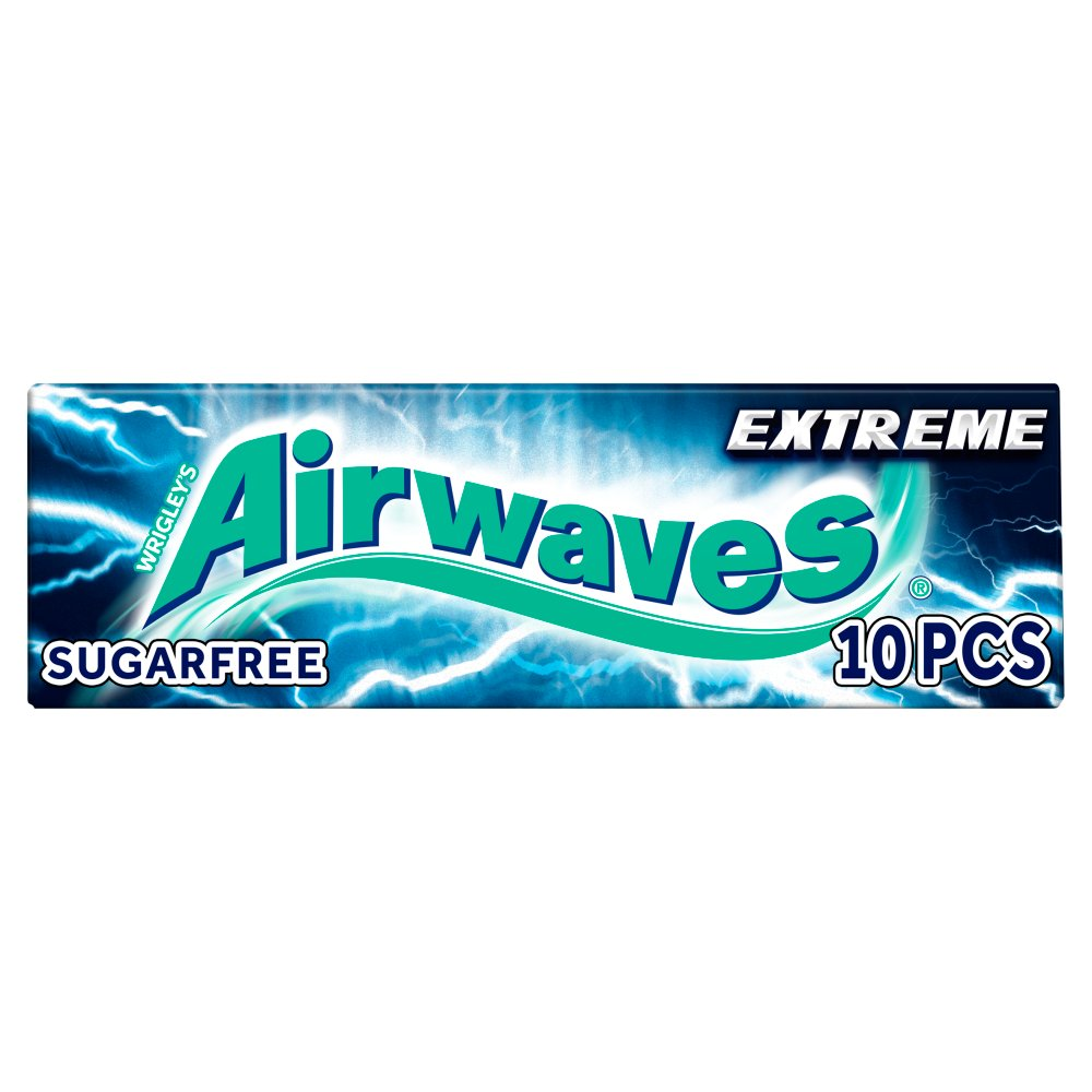 Wrigleys Airwaves Extreme Menthol and Eucalytus - Case of 30