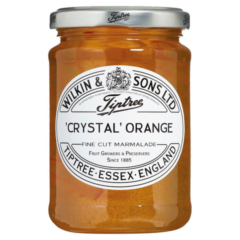 Wilkin & Sons Ltd Tiptree Crystal Orange Fine Cut Marmalade 454g
