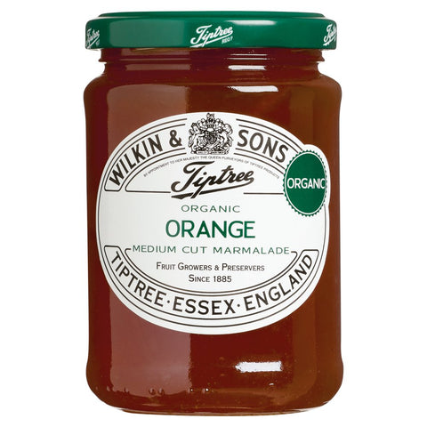Wilkin & Sons Ltd Tiptree Organic Orange Medium Cut Marmalade 340g