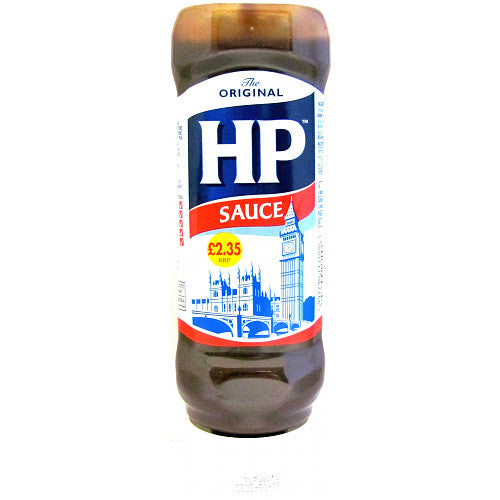 HP Original Brown Sauce Squeezy 450G