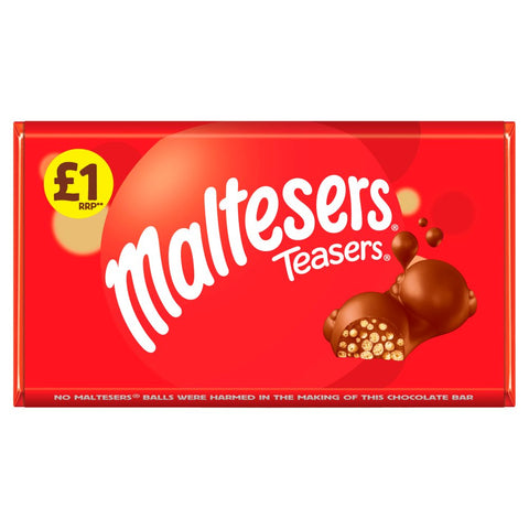 Maltesers Teasers Chocolate  Bar 100g