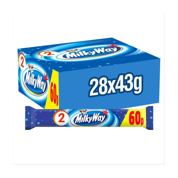 Milky Way Chocolate  Duo Bar 43g
