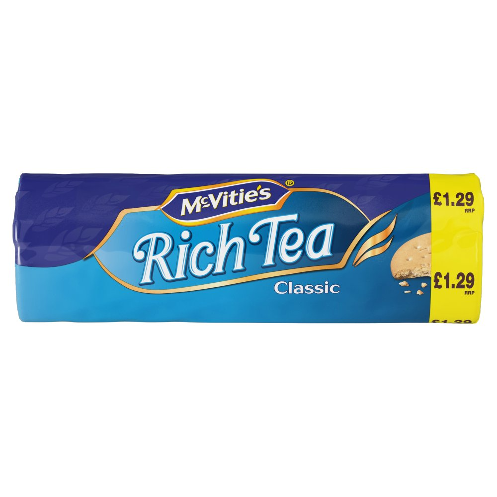 McVitie's Rich Tea Biscuits, 300 Gram (Pack of 6)