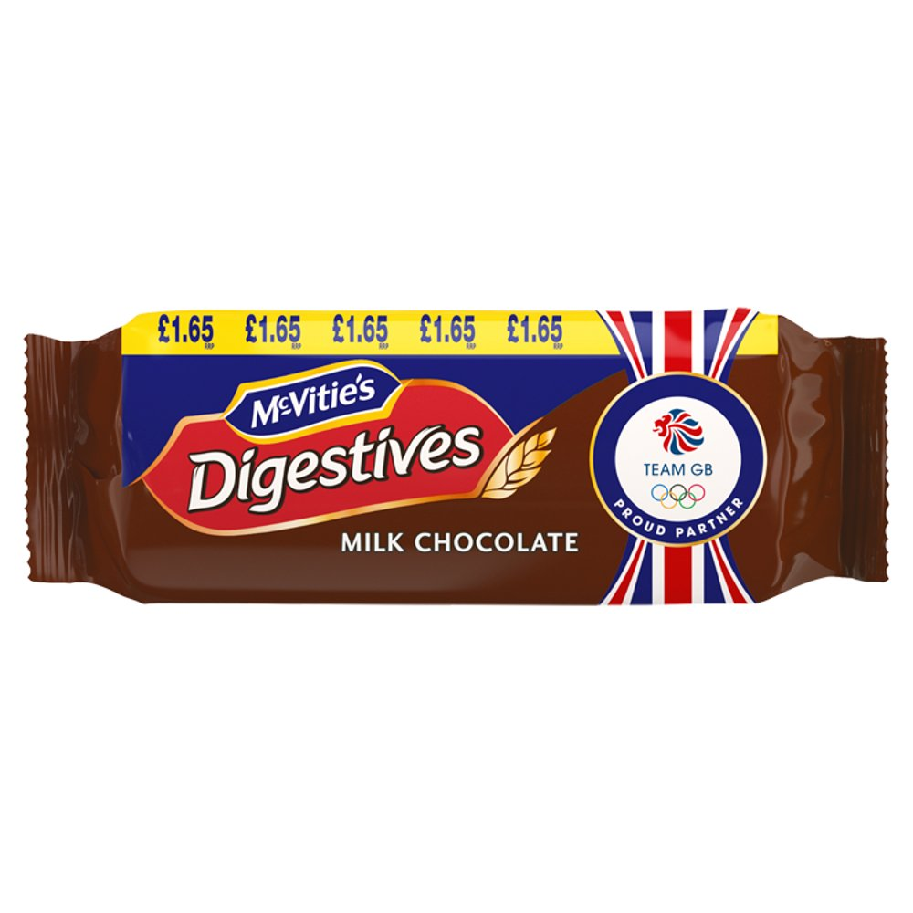 McVitie's Digestives - Milk Chocolate (300g) - Pack of 6