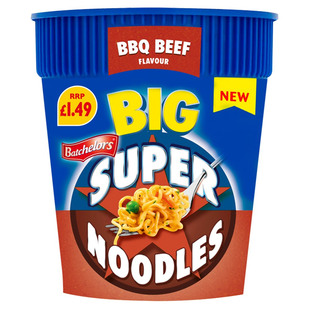 Batchelors Big Super Noodles BBQ Beef Flavour 100g