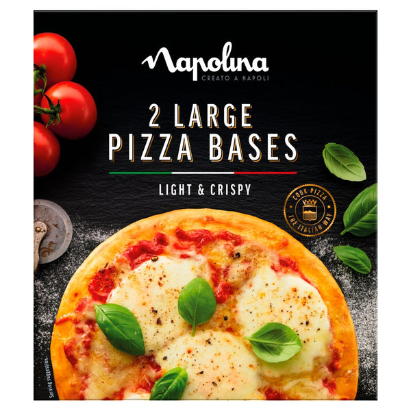 Napolina Large Pizza Bases (2x250g)
