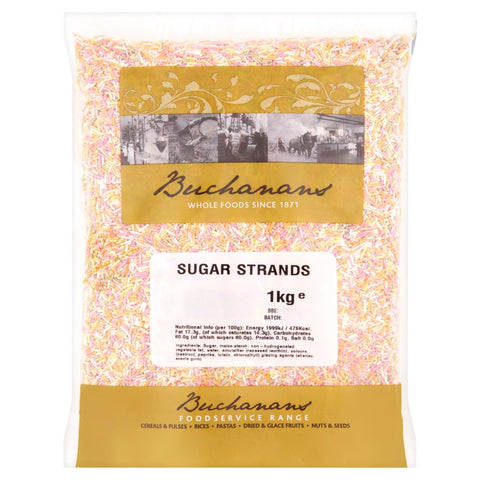 Buchanan Sugar Strands 1kg