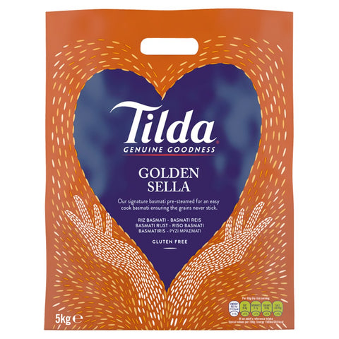 Tilda Golden Sella Basmati Rice 5kg